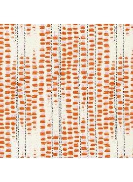 Cloud 9 Bird's Eye View by Sarah Watson:  Tapestried Orange