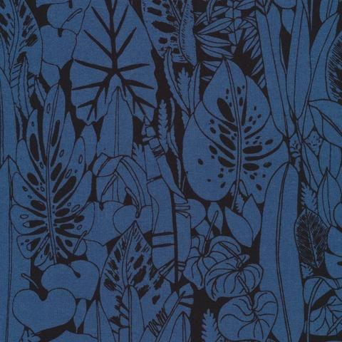Cloud 9 Bird's Eye View by Sarah Watson: Foliage Black