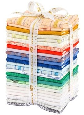 Robert Kaufman Friedlander by Carolyn Friedlander, Complete 25 Piece Fat Quarter Bundle