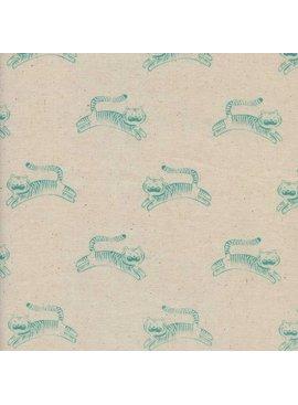 Cotton + Steel Sleep Tight by Sarah Watts: Big Roar Neutral