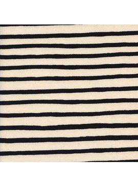 Cotton + Steel Wonderland by Rifle Paper Co: Cheshire Stripe White