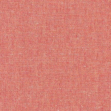 Robert Kaufman Essex Yarn Dyed Metallic Dusty Rose