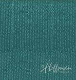 Hoffman Fabrics Hand Dyed Batik Arrows Peacock