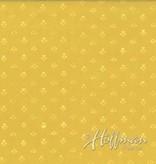 Hoffman Fabrics Hand Dyed Batik Ditzy Triangles Daffodil