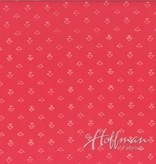 Hoffman Fabrics Hand Dyed Batik Ditzy Triangles Blush