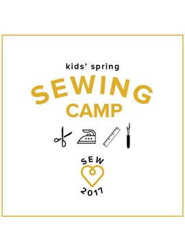 CAMP IN SESSION Kids' Sewing Camp: Make a Quilt!, Monday-Thursday, March 27,28, 29, 20, 10 am - 1 pm