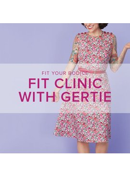Gretchen Hirsch WORKSHOP FULL! Fit Clinic with Gertie, Monday, March 6, 10 am - 5 pm