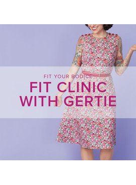 Gretchen Hirsch WORKSHOP FULL! Fit Clinic with Gertie, Tuesday, March 7, 10 am - 5 pm