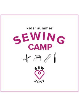 CAMP FULL Kids' Sewing Camp: Design and Sew Softies! Monday - Thursday, July 10, 11, 12, 13, 10 am - 1 pm