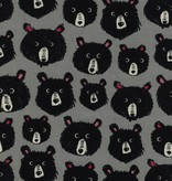 Cotton + Steel Black And White 2017 by Cotton + Steel: Teddy & The Bears