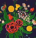Windham Fabrics Sleeping Porch by Heather Ross Cotton Lawn Wild Flowers Indigo