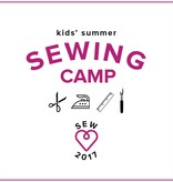 Karin Dejan CAMP IN SESSION Kids' Sewing Camp: Learn to Sew! Monday - Thursday, July 24, 25, 26, 27, 2-5 pm