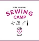 Kids' Sewing Camp: Sew Fun!, Monday - Thursday, July 24, 25, 26, 2, 2-5 pm