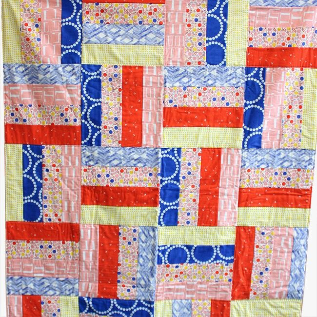 CAMP FULL Kids' Sewing Camp: Make a Quilt!, Monday-Thursday, July 24, 25, 26, 27, 10 am - 1 pm
