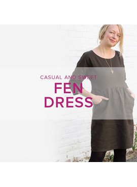 Karin Dejan Fen Dress, Sundays, April 2 and 9, 2-5 pm