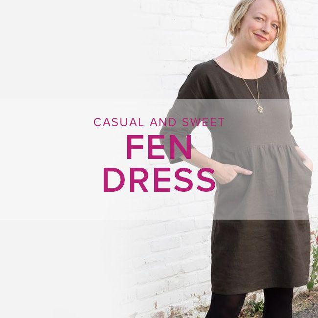 Karin Dejan Fen Dress, Sundays, April 2 and 9, 10-1 pm