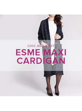 Erica Horton Esme Maxi Cardigan, Mondays, April 10, 17, 24, 6-8:30 pm