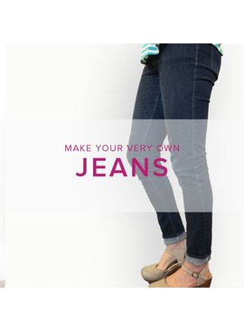 Erica Horton CLASS FULL Jeans, Wednesdays, May 10, 17, 24, 31, & June 7, 6-9 pm