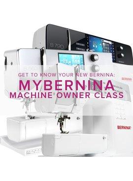 Modern Domestic CLASS FULL MyBERNINA: Machine Owner Class, Tuesdays, May 9, 16, 23, 11am - 1pm