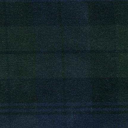 Carr Textiles Waxed Canvas Black Watch Plaid TexWax