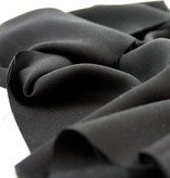 Exotic Silks Lightweight Black Rayon Twill