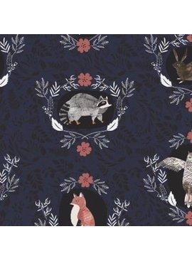Dear Stella Dear Stella - Beyond The Brush Navy Flannel