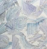 Alexander Henry Dimitrios Blue Cotton Lawn