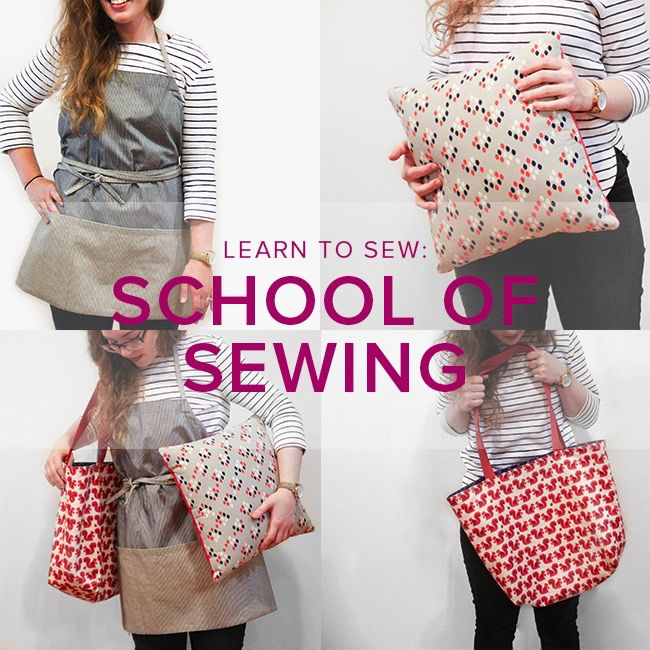 Karin Dejan NEW SESSION Learn to Sew: School of Sewing, Thursdays, May 18, 25, and June 1, 6-9 pm