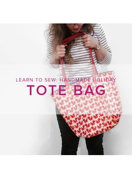 Karin Dejan Learn to Sew: Tote Bag, Thursday, May 4, 6-9 pm