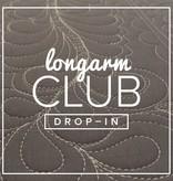 Modern Domestic Longarm Club Single Session Drop-in, MONDAY, April 24, 10:30-12:30pm Demo: Reverse Applique