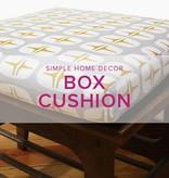Heather Davidson Boxed Cushion, Saturday, May 20, 1-6 pm