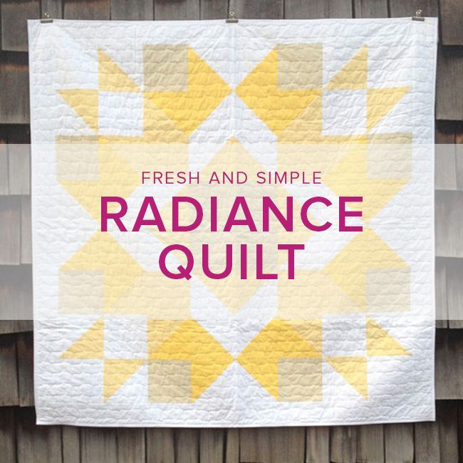 Meredith Hobbs Radiance Quilt, Saturdays, May 6, 13 and 27, 2-5 pm