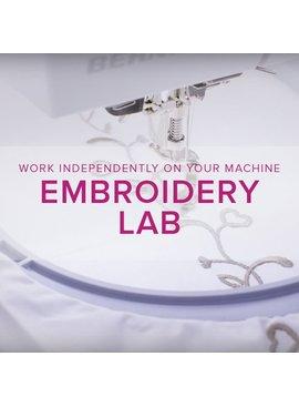 Modern Domestic BERNINA Machine Embroidery Lab Drop-in: Sunday, May 28, 10:30 am -1 pm