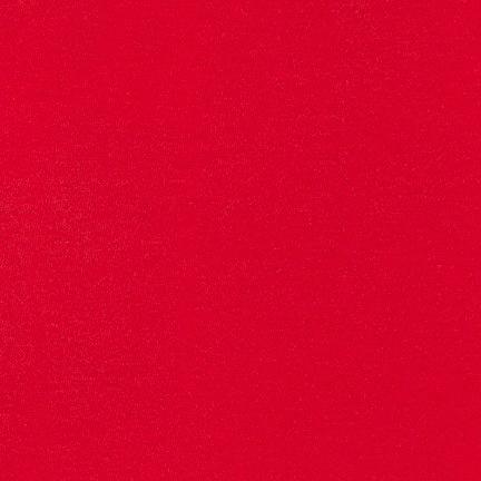 Robert Kaufman Dana Cotton/Modal Knit Signal Red