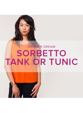 Erica Horton CLASS IN SESSION Sorbetto Tank or Tunic, Wednesdays, June 14 and 21, 6 - 9 pm