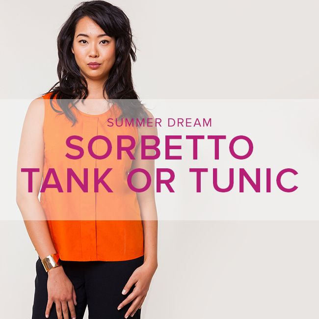 Erica Horton Sorbetto Tank or Tunic, Wednesdays, June 14 and 21, 6 - 9 pm