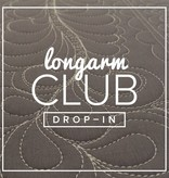 Modern Domestic Longarm Club Single Session Drop-in, SUNDAY, May 21, 2 - 4 pm Guest: Rebecca RIngquist