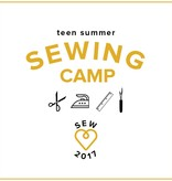 SESSION FULL Teen Sewing: Fashion Camp! Monday-Thursday, July 17, 18, 19, 20, 2-5 pm