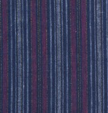Indie Sew Indie Sew Linen Lurex Stripe Blue