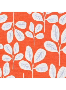 Cloud 9 Floret by Leah Duncan Batiste: Friday Fronds Tangerine