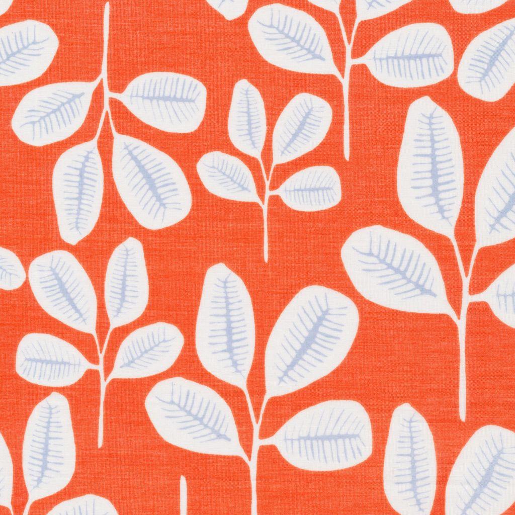 Cloud 9 Floret by Leah Duncan Batiste: Friday Fronds Tangerine