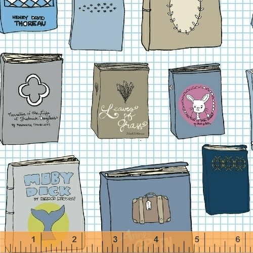 Windham Fabrics Literary, Literary by Heather Givans