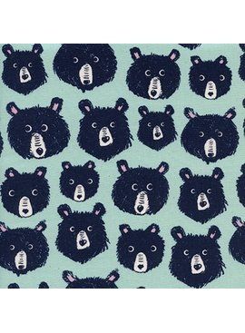 Cotton + Steel Cozy by Cotton + Steel: Teddy and the Bears Mint