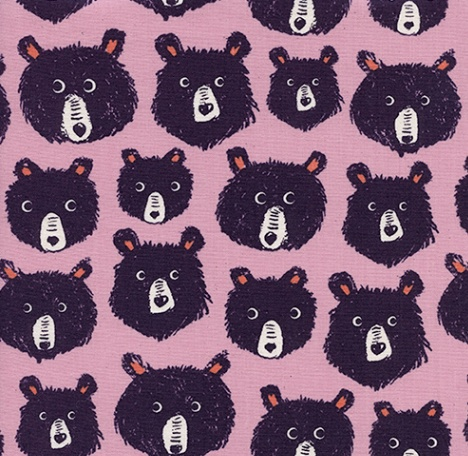 Cotton + Steel Cozy by Cotton + Steel: Teddy and the Bears Lilac