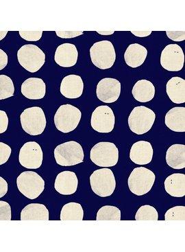 Cotton + Steel Sienna by Alexia Abegg: Pebbles Indigo