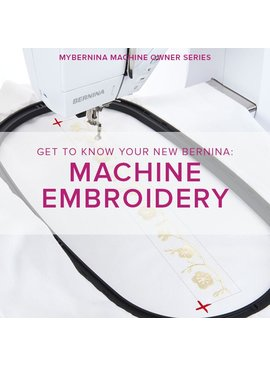 Modern Domestic MyBERNINA: Machine Embroidery, Sunday, July 23, 10:30 - 1 pm