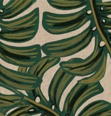 Cotton + Steel PREORDER Menagerie by Rifle Paper Co: Monstera Natural Canvas