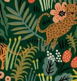 Cotton + Steel PREORDER Menagerie by Rifle Paper Co: Jungle Hunter Canvas