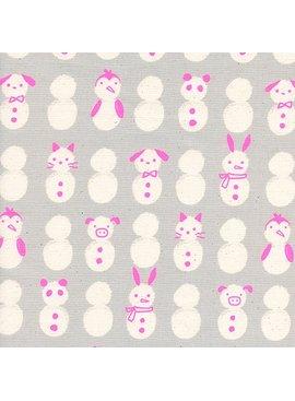 Cotton + Steel Noel by Cotton + Steel: Snow Babies Neon