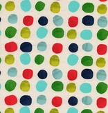 Cotton + Steel Noel by Cotton + Steel: Painted Dots Blue